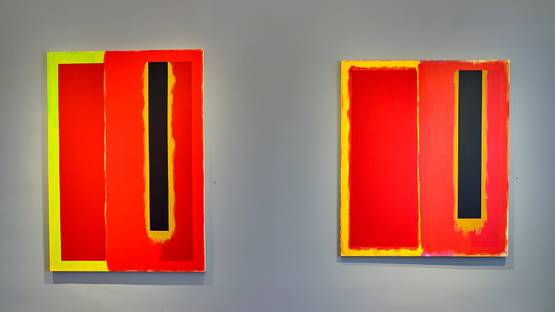 Doug Ohlson - installation shot, photo credits of The Estate of Douglas Ohlson