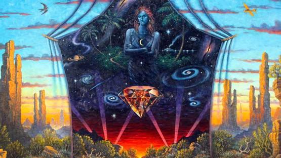 Doug Shelton - Diamond Sky (detail)
