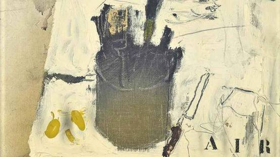 Douglas Swan - Paint Table & a Brush Before the Eye, detail - image courtesy of Christies