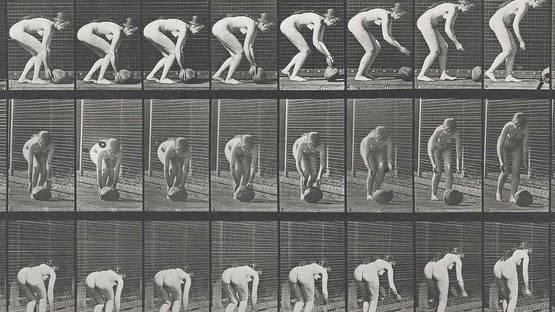 Eadweard Muybridge - Locomotion 442 (detail), 1887, photo via wikimedia