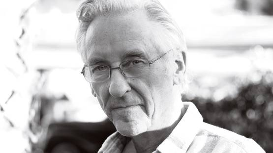 Ed Ruscha photographed at his Culver City - imageviaartnews