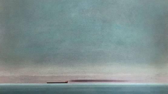 Eduard Angeli - Der Tanker - The Tanker, 2017 (detail)
