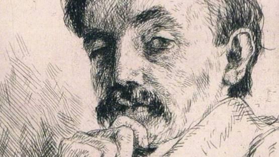 Eduard Winkler - Bildnis Dr. Z (portrait Of Dr. Z), 1912 (detail)