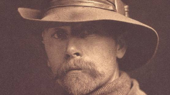 Edward S. Curtis self portrait, 1899 (detail)
