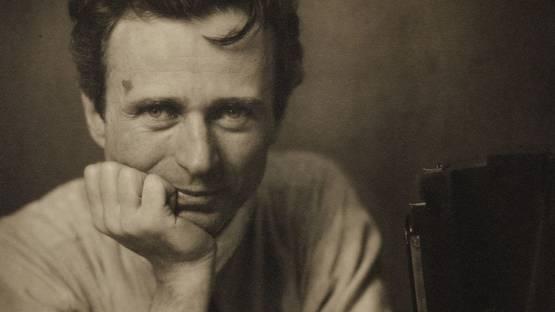 Edward Steichen - Self-Portrait with Studio Camera, 1917 (detail)