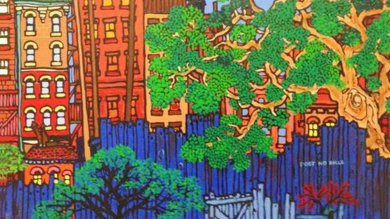 Edward Sokol - Brooklyn Backyards, 1980-1985 (detail)