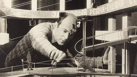 El Lissitzky's Portrait - image via metalocuses
