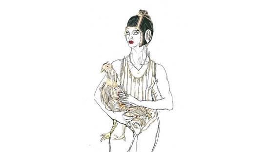 Elena Monzo - Chicken doll