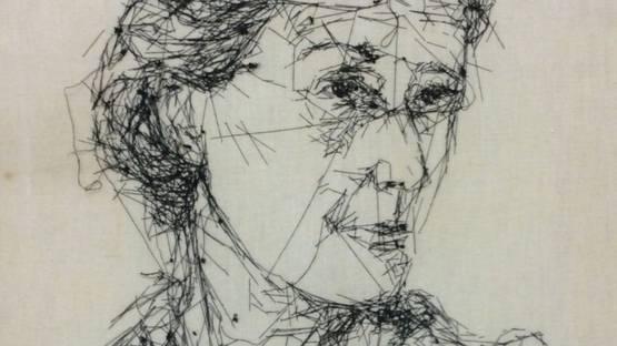Elena Nonnis - Virginia Woolf, 2012 (detail)