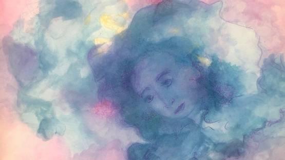 Elena Zelenina - Contemplation, 2019 (detail)