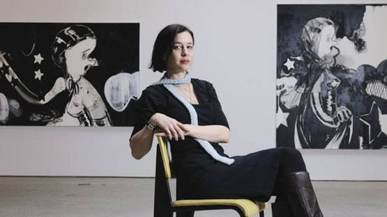 Ellen Berkenblit - portrait, photo via cumulus-studios com
