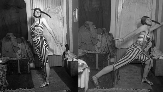 Baroness Elsa von Freytag-Loringhoven in a Costume