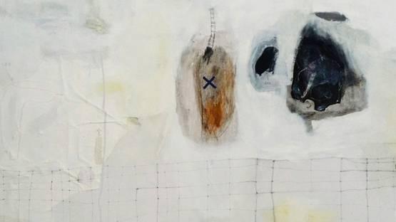 Emanuele Ravagnani - Untitled (detail), 2014, image courtesy of Molin Corvo Gallery