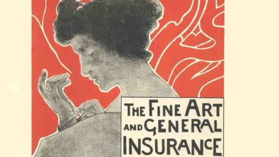 Emile Berchmans - Fine Art and General Insurance Company Limited, 1897 (detail)