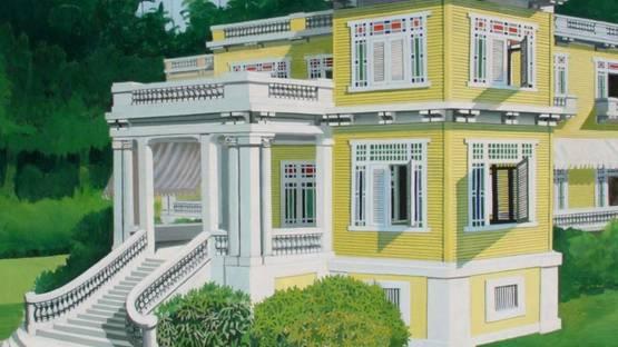 Emilio Sanchez - La Mansion en Mantanzas (Cuba), 1971 (detail)