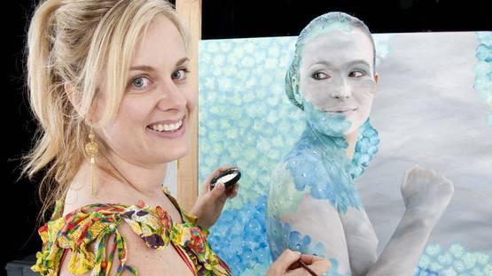 Emma Hack - featured Photo credits Australian Body Art Festival