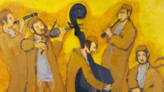 Emmanuel Mane-Katz - Les musiciens (detail), photo via mutualart com