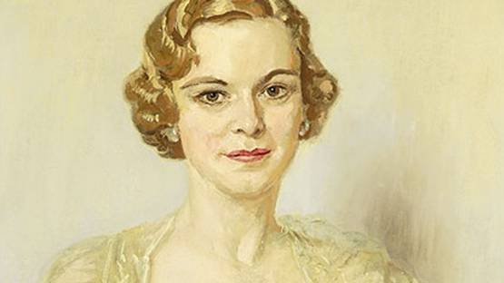 Endrey V. Sandor - Portrait of a Lady (detail), photo credits - Susanins