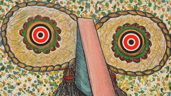 Enrico Baj - Untitled (detail) - 1975-76