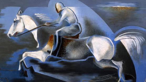 Enrico Prampolini - Dinamica dellazione - Image via paylessart