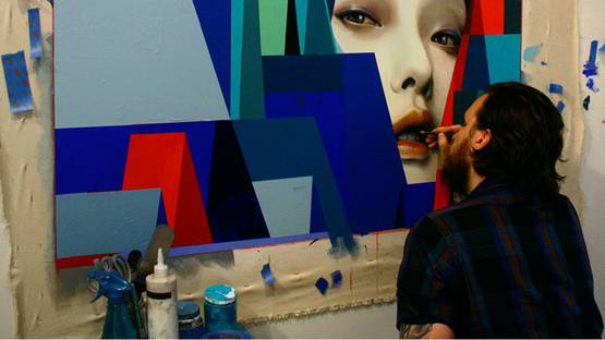 Erik Jones - Motion solo show at Hashimoto Contemporary, San Francisco - 2014