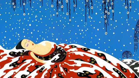 Erte - The Beading Yogini - Image via pinterestcom