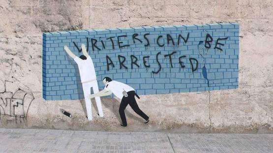 Escif - Unnamed graffiti in Valencia - Photo Credits Fubiz