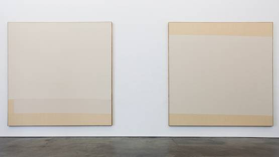 Ethan Cook - Untitled - installation view - photo credits - artist