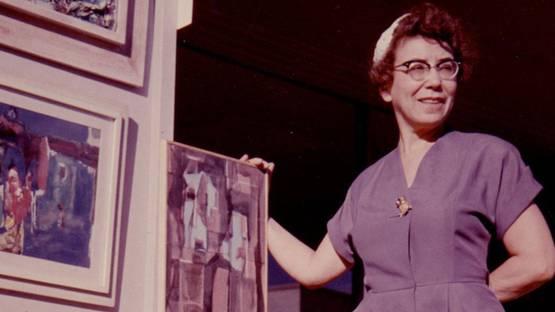 Eve Garrison - portrait, photo via wikipedia