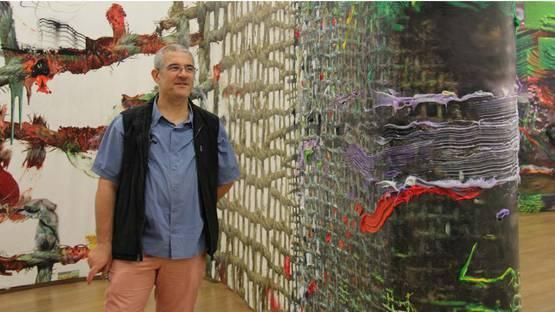 Fabian Marcaccio - artist, photo courtesy Casa Daros