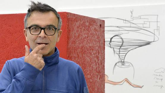Fabrice Hyber - artist, photo credits - Lejdd