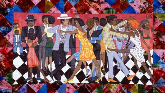 Faith_Ringgold_Groovin_High