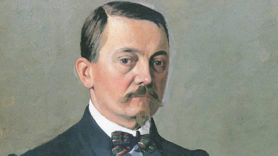 Felix Vallotton - Self Portrait, around 1925 (detail)