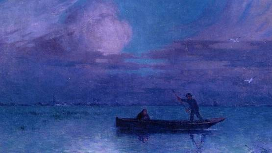 Ferdinand du Puigaudeau, Nighttime Boat Ride at Briere