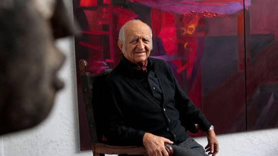 Fernando de Szyszlo - Photo of the artist - Image via andina