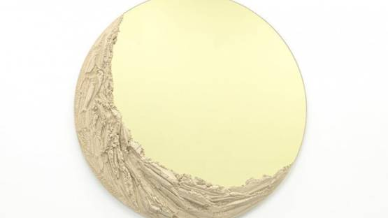 Fernando Mastrangelo - Sahara Gold Mirror, 2018 (detail)
