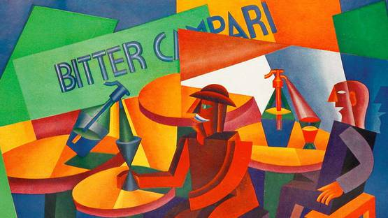 Fortunato Depero - Manifest Campari, 1926 - image courtesy of Pinterest