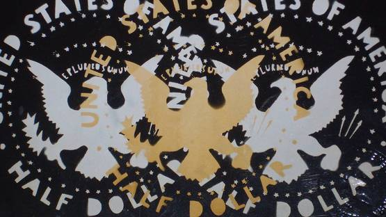 Franco Angeli - Half Dollars (detail)