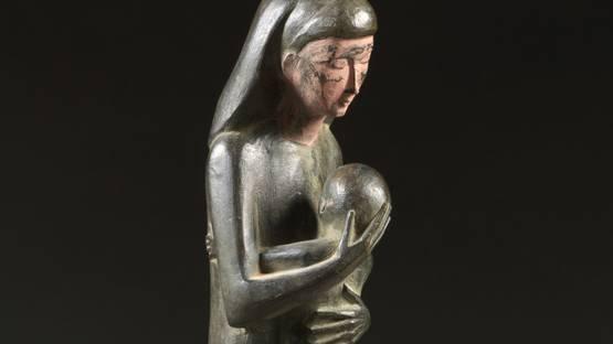 Francois Brochet - La Femme et Son Enfant (detail)