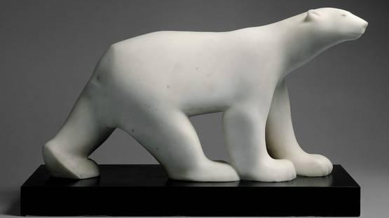 Francois Pompon - Polar Bear - Image via metmuseum
