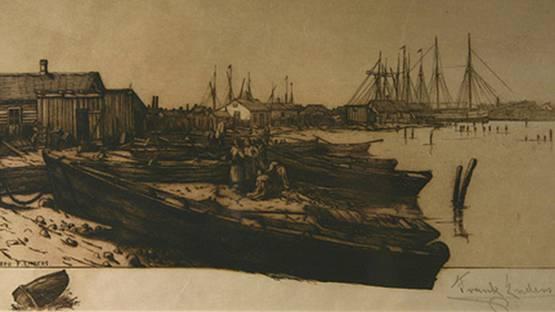 Frank Enders - Jones Island (detail), 1889