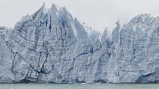 Frank Thiel - Perito Moreno #18 (detail), photo via themodern org