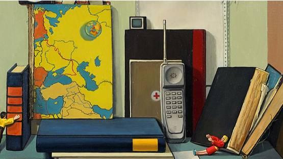 Frank Trankina - Information Age, 1996 (detail)