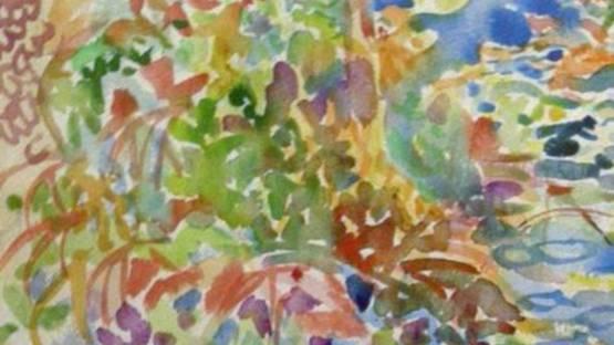 Fred Yates - Autumn Woodlands (detail)