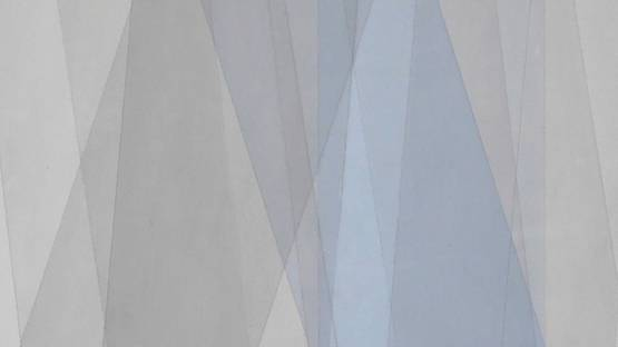 Fritz Ruprechter - Untitled 1 - Blue-Gray (detail), photo courtesy of Robert Fontaine Gallery