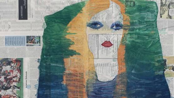 Gabriel Vormstein - Sitting Bored, 2011 (detail)