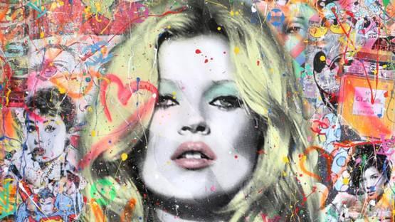 Gardani - Kate Moss my Muse, 2018 (detail)
