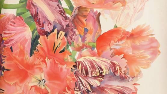 Gary Bukovnik - Iridescent Tulips, 1991 (detail)
