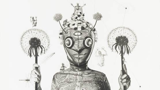 Gavin Wilson - Naked Sage: Dandelion Holder, 2014 (detail)