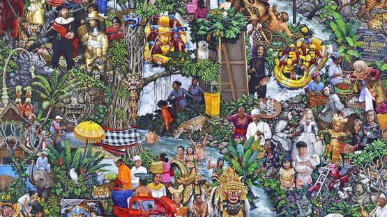 Gede Mahendra Yasa - Untitled (detail) - image via youtube.com